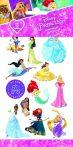 Disney Hercegnők - Gyerek matrica tetoválás - Funny Products