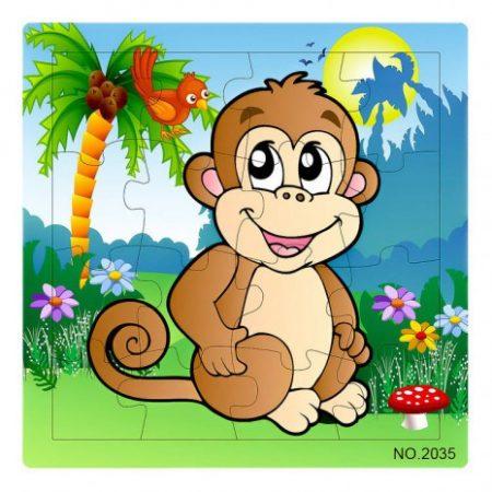Fa Puzzle 16 db-os majmos