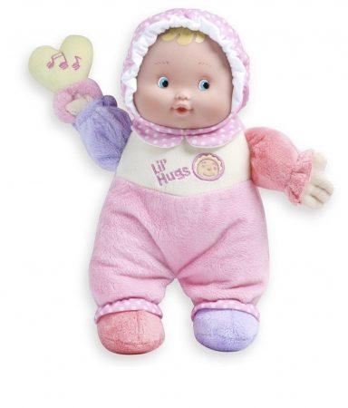 Berenguer első játékbabám, puhatestű, csörgővel, 30 cm, újszülötteknek