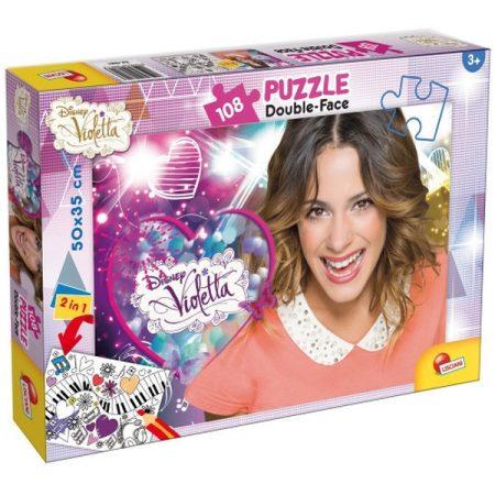 Violetta Puzzle plus 108 db 2 oldalas