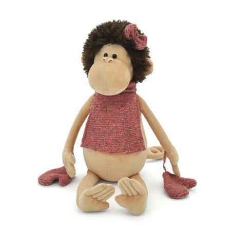 Orange Toys plüss nagykereskedés - Plüss Jozzi a majom sállal kesztyűben 25cm Orange Toys