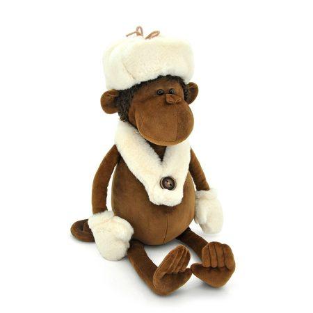Orange Toys plüss nagykereskedés - Plüss Nicolas a majom sapkában 25cm Orange Toys