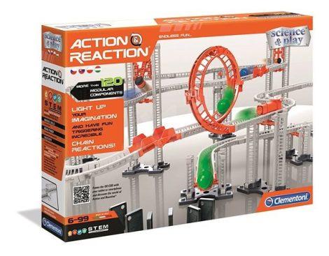 Action & Reaction - Premium golyópálya szett Clementoni
