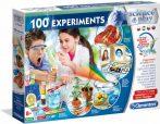 Gyerek laboratórium - 100 tudományos kísérlet Clementoni