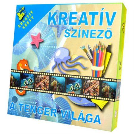 Kreatív színező - A tenger világa