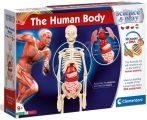 HUMAN BODY az emberi test tudományos játék Clementoni