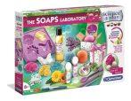 Soap Laboratory Szappan gyár kreatív kísérletező játék Clementoni