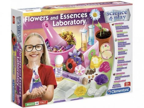 Science & Play Virágok és illatok tudományos készlet lányoknak Clementoni