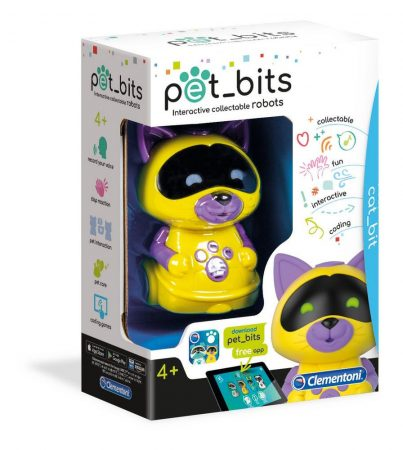 Pet Bits Interaktív Robot cica Clementoni
