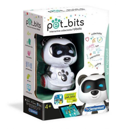 Pet Bits Interaktív Robot panda Clementoni