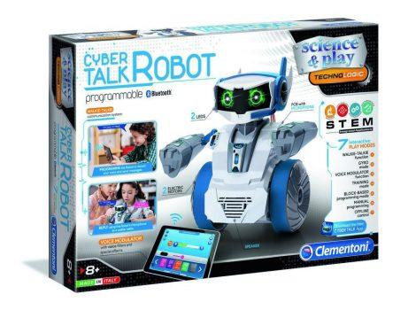 Cyber Talk Beszélő Robot játék Clementoni
