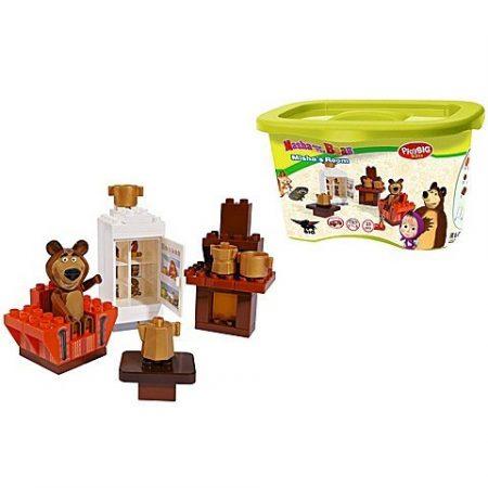 Mása és a Medve - Misha Szoba PlayBig Bloxx MB Bears Room Simba Toys