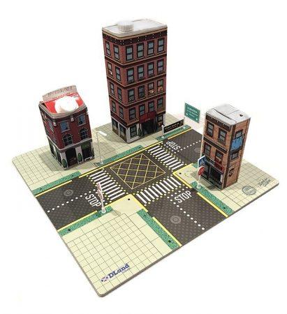 Dland eco Város - Újrahasznosításhoz használható játék - Start szett