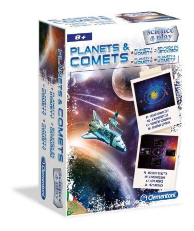 Science Bolygók és Üstökösök Tudományos játék Clementoni