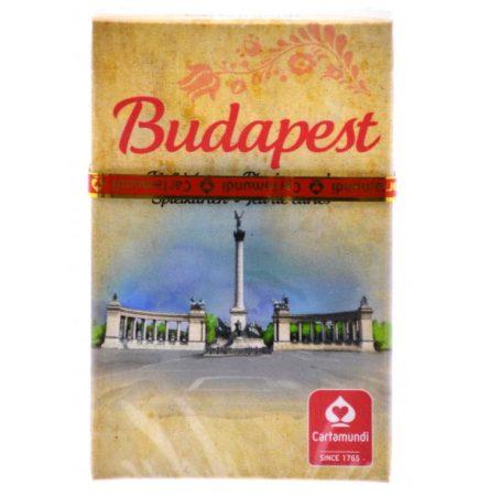 Budapest szimpla römi kártya -  Cartamundi