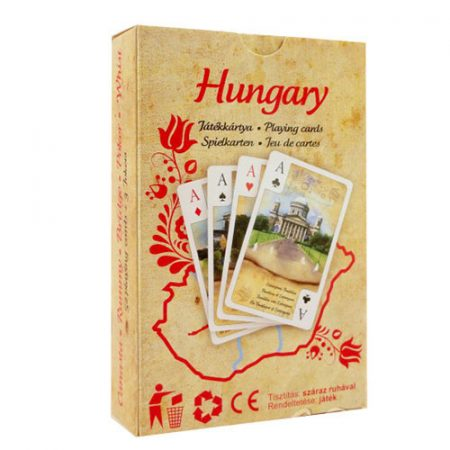 Magyarország römi kártya, szimpla - Cartamundi