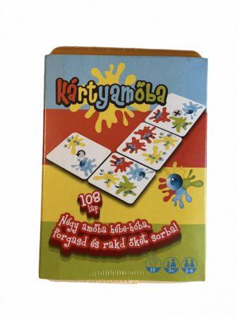 Kártyamőba - Négyet egy sorba, trükkösen - Cartamundi
