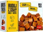 Brick Trick bővítő téglából építünk - 40 db kis tégla Trefl