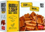 Brick Trick bővítő téglából építünk - 40 db cserép Trefl