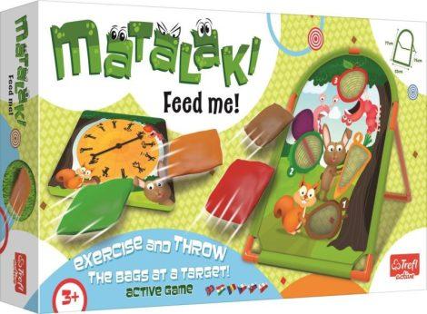 Matalaki Feed me! Ügyességi játék állatokkal - Trefl