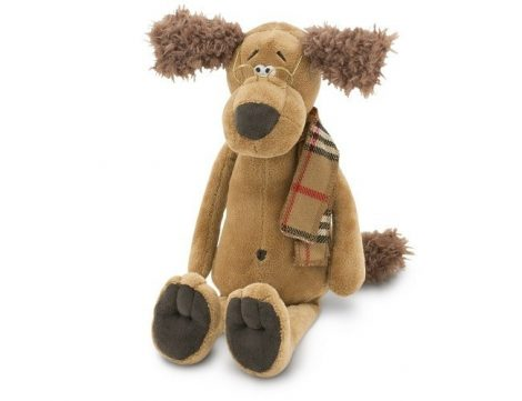 Doc the Dog Plüss Kutya Orange Toys kicsi