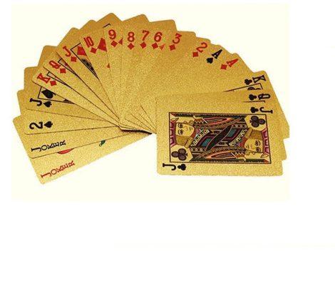 Römi kártya dolláros plastic