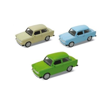 Fém játékautó Trabant 1:34 Welly Nex Modells