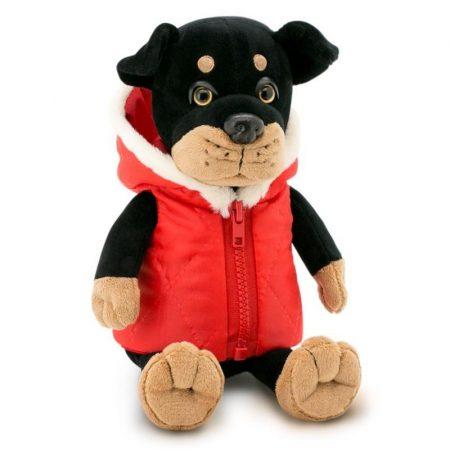 Max Rottweiler piros kabátban Orange Toys