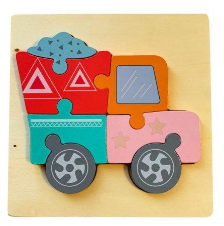 Kamionos fa puzzle