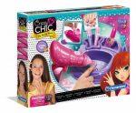 Crazy Chic Sparkling Nails - Játék köröm stúdió - Clementoni