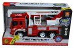 Tűzoltóautó kosaras emelővel funkciós