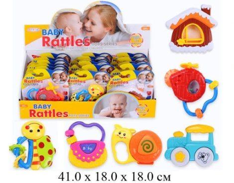 Csörgős játék babáknak