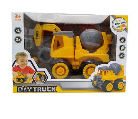 Diy Truck Játék Szerelős jármű markoló
