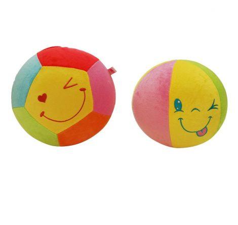 Bébi plüss labda - Felfújhatós kb 20 cm
