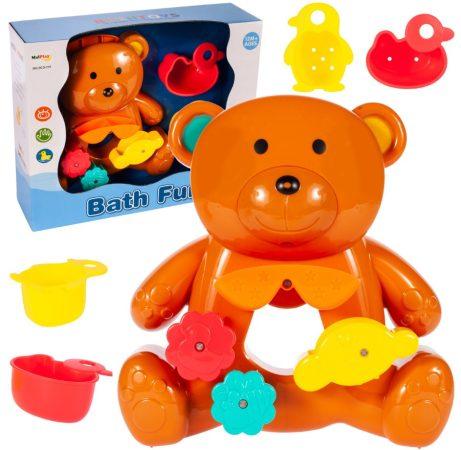 Bath Fun Fürdőjáték Macis malom montesszori csészékkel