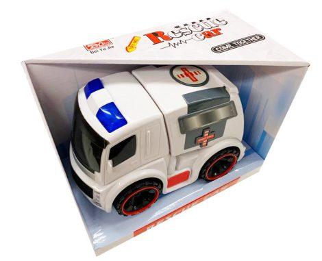 Rescue Car Játék mentőautó funkciós