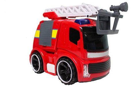 Fire Rescue Játék tűzoltó autó fénnyel, hanggal