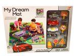 My Dream Mat Játszószőnyeg játék kisautókkal