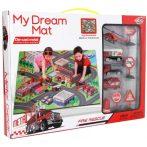 My Dream Mat Tűzoltóautós Játszószőnyeg tűzoltó autókkal