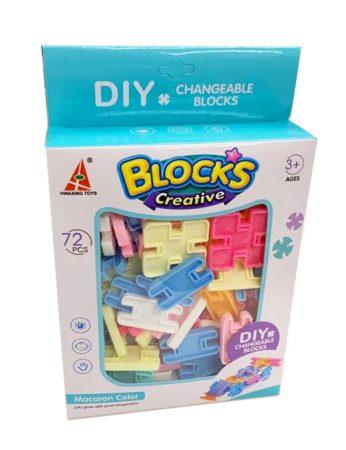 Blocks Creative Építőjáték 72 db