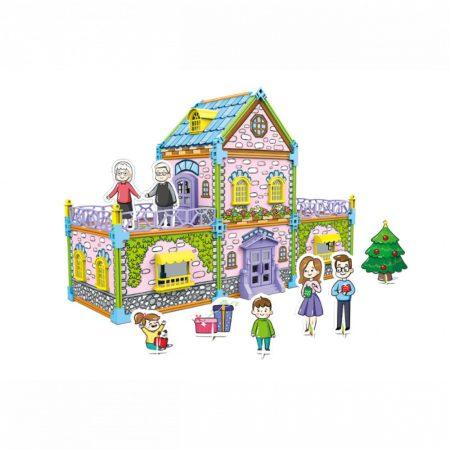 Graffiti Assembly Készíts házat! Építő színező játék