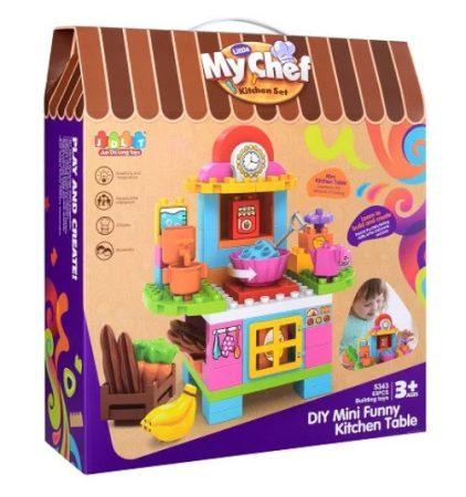 Little My Chef Kitchen Set - Építs játék konyhát Jdlt