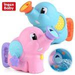 Fürdőjáték Elefántos locsoló Baby Bath Toys