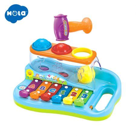 Kalapáló xilofon baba játék Hola
