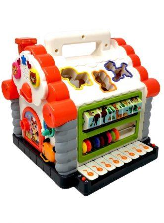 Házikó Készségfejlesztő baba játék Hola