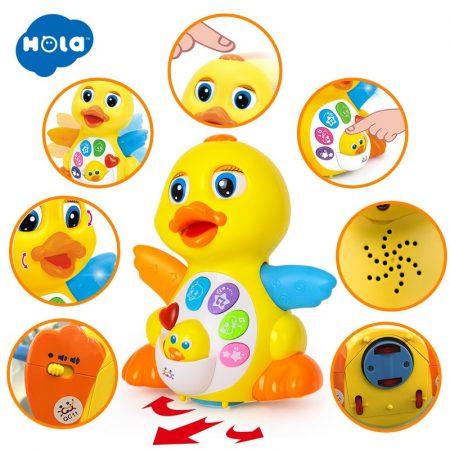 Zenélő baba játék - Kacsa Hola