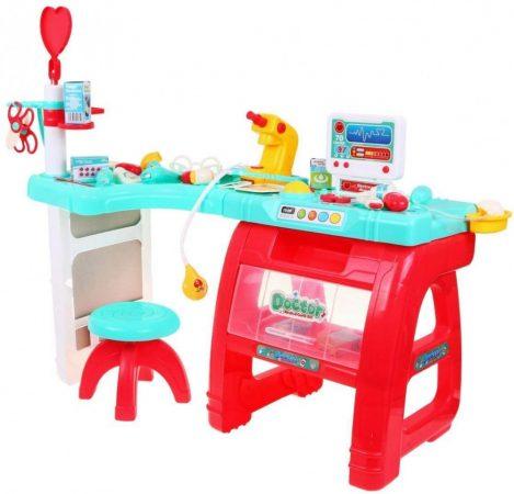 Óriás orvosi játék asztal 27 db-os Medical Play Set
