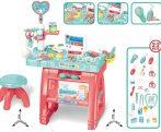 Orvosi játék asztal 22 db-os Medical Play Set