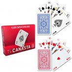 Canasta dupla. 110 lapos kártyacsomag -  Cartamundi
