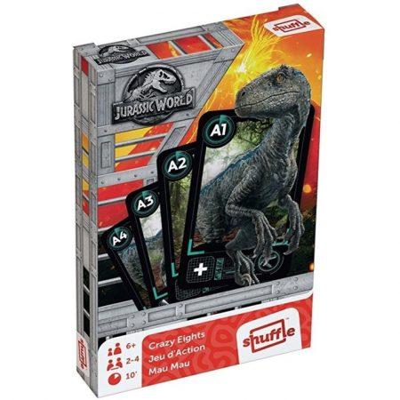 Jurassic World Mau Mau kártyajáték - Cartamundi